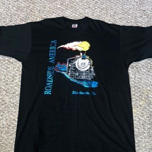 Vintage Train Shartlesville Pa Sz xl